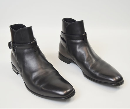 Prada Black Leather Boots Size 8