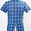 Thumbnail: J. Crew Blue Plaid Linen Shirt Size XS