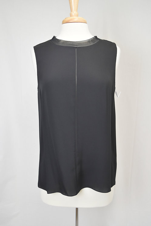 Vince Black Silk Top Size Medium
