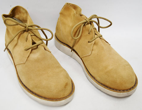 A.P.C. Tan Suede Boots Size 9