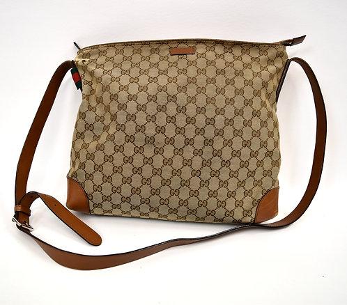 Gucci Monogram GG Canvas Crossbody Bag