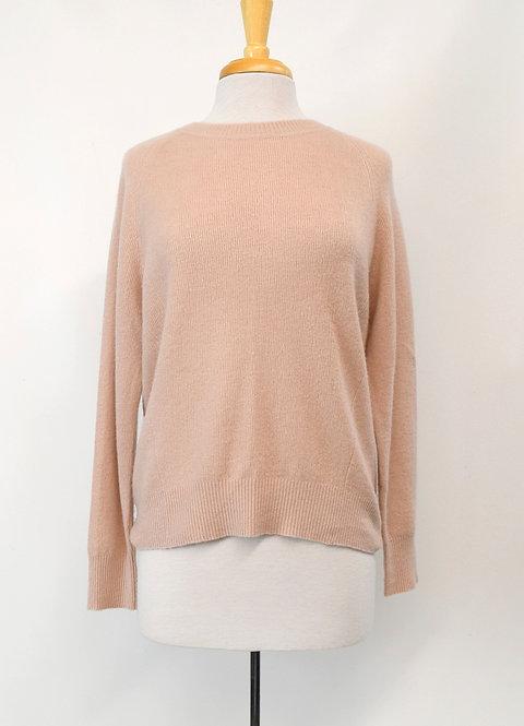 Vince Blush Pink Cashmere Sweater Size XS