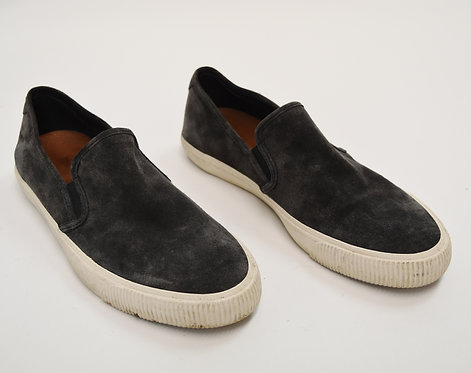 Frye Gray Suede Slip-On Sneakers Size 12