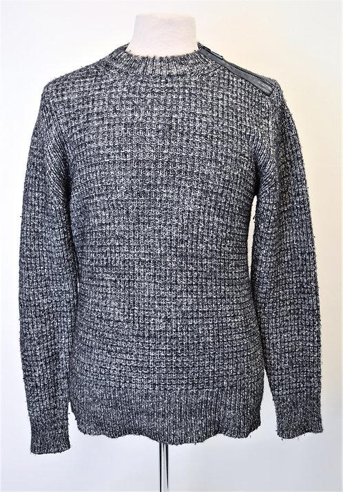 Belstaff Black & White Knit Sweater Size Large