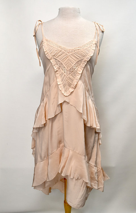 Ulla Johnson Blush Ruffle Dress Size 8