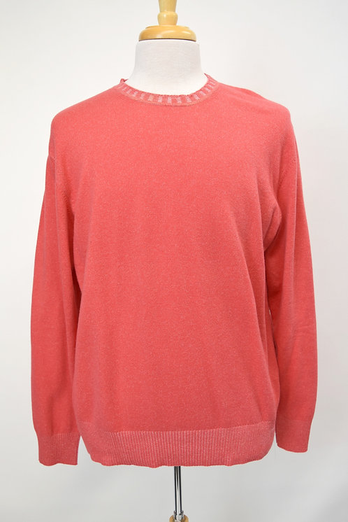 Doriani Salmon Cashmere Sweater Size Large