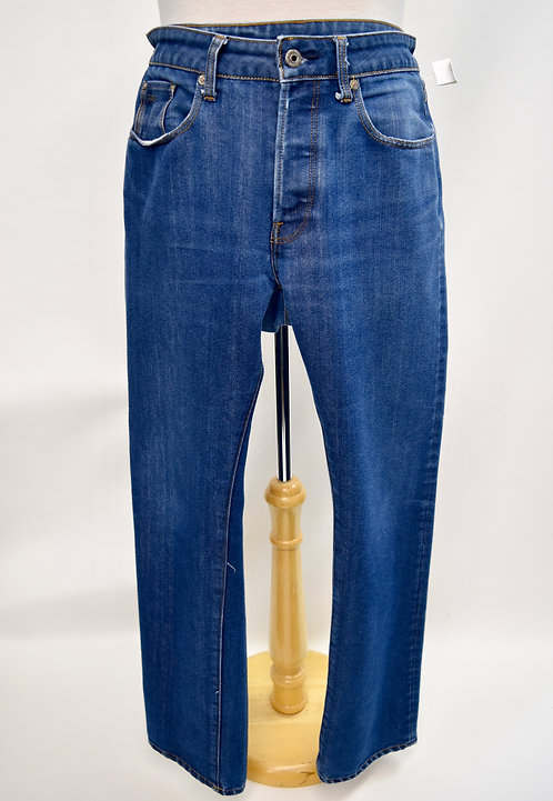 G Star Raw 3301 Straight Leg Jeans Size 33