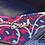Thumbnail: Coach Blue & Magenta Print Ballet Flats Size 6.5