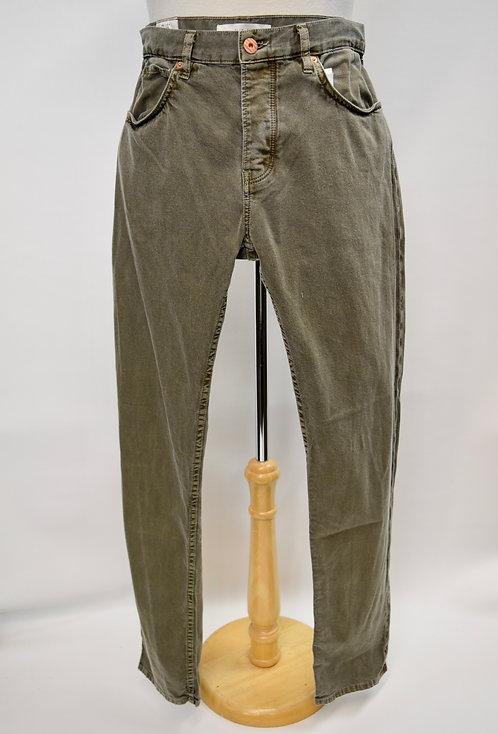 Billy Reid Green Slim Cut Jeans Size 31