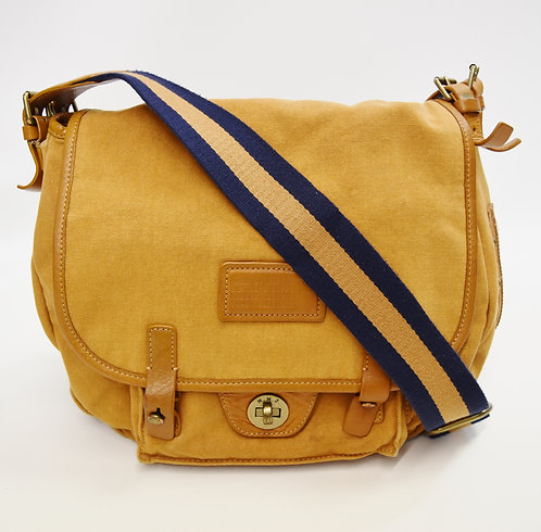 Marc By Marc Jacobs Mustard Canvas Messenger Bag