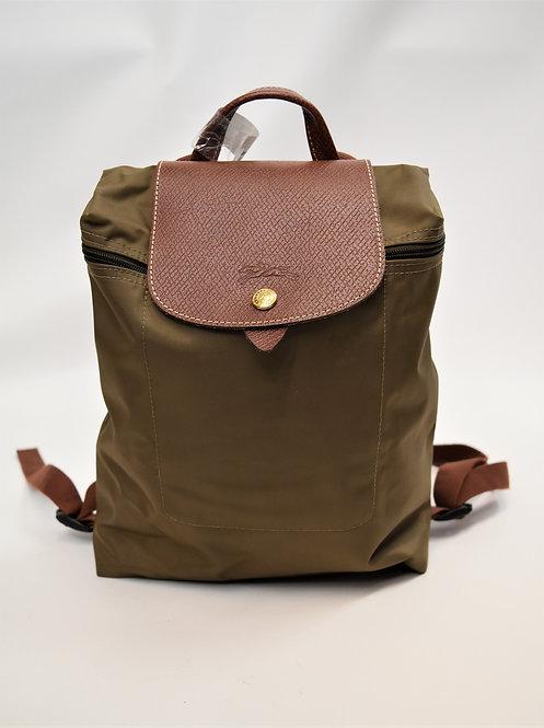 Longchamp Green Nylon Backpack