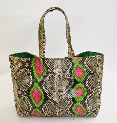 Blu + Baker Snake Skin Tote Bag