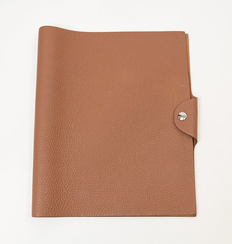 Hermes Tan Leather Ulysses Journal Cover