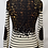 Thumbnail: Tory Burch Cheetah & Stripe Cardigan Size XS