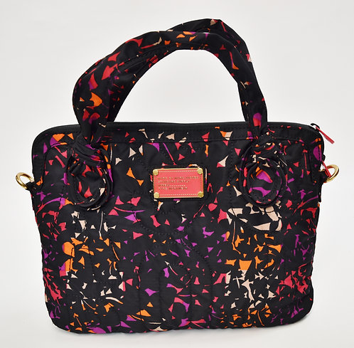 Marc By Marc Jacobs Navy Print Laptop Bag