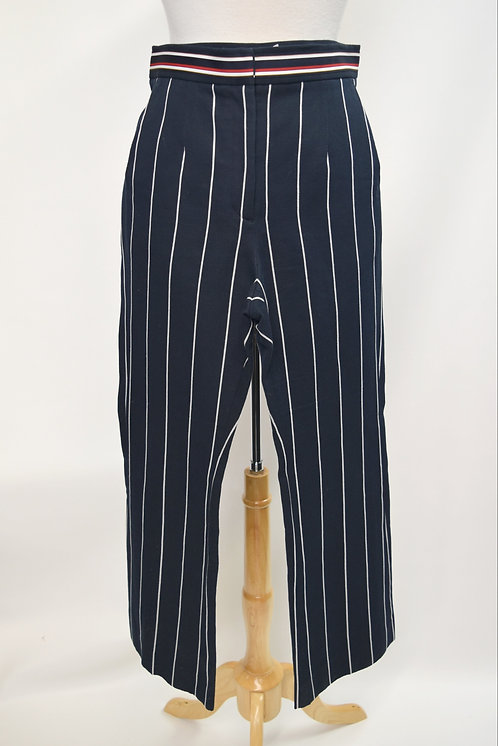 Sandro Navy Stripe Pants Size 28