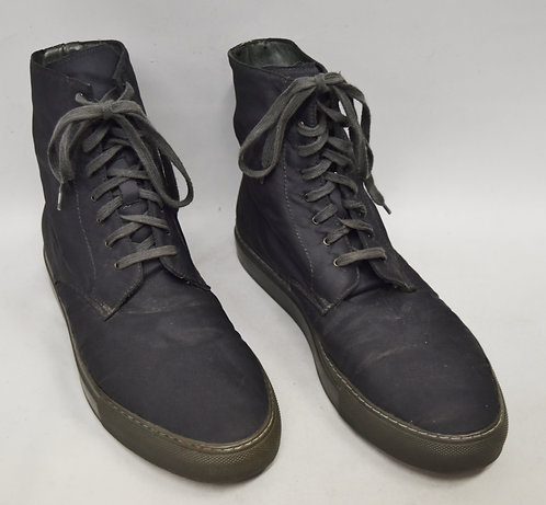 Common Projects Gray High Top Sneakers Size 8