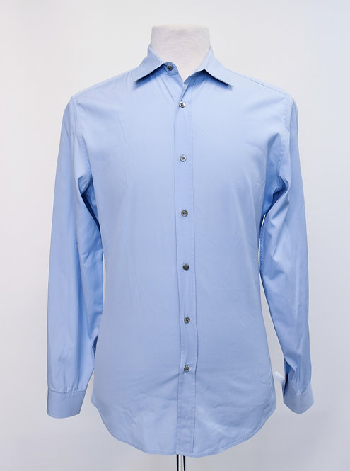 Gucci Light Blue Dress Shirt Size Small