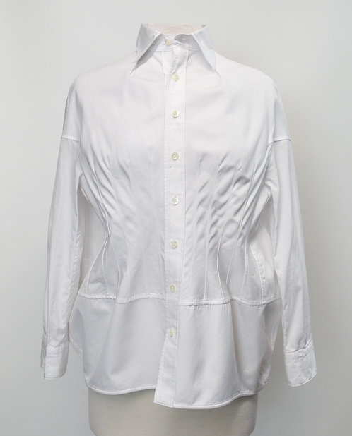 Junya Watanabe White Button-Down Blouse Size Small