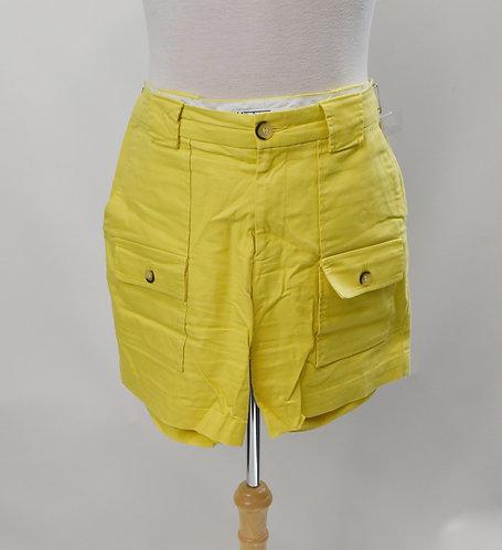 Mr Turk Yellow Shorts Size 33
