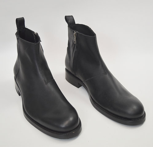 Wolverine Black Leather Boots Size 11