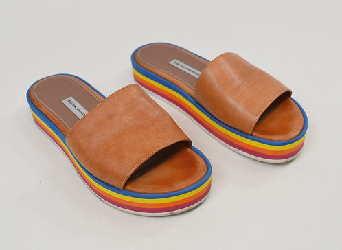 Tabitha Simmons Tan Leather Sandals Size 7