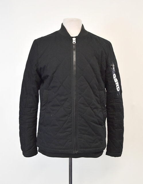G Star Raw Black Zip-Up Jacket Size Medium