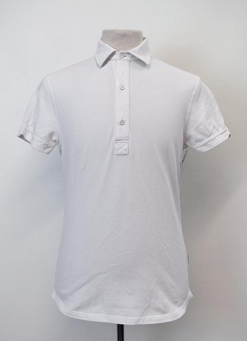 Orlebar Brown White Polo Shirt Size Large