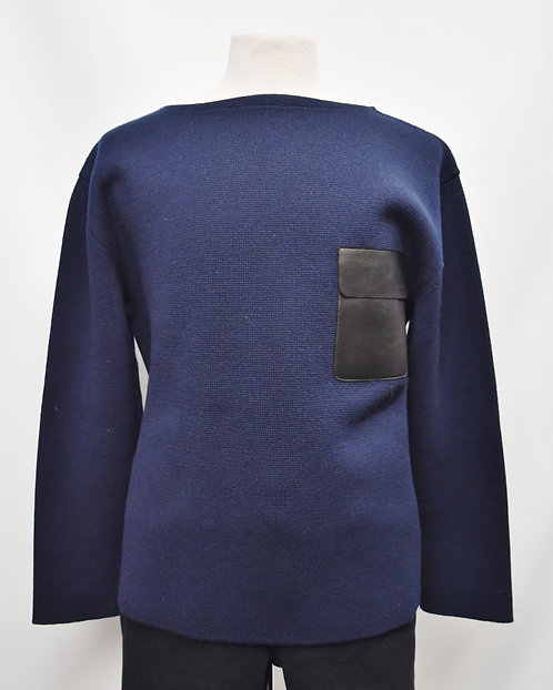 Gucci Navy Wool Sweater Size XXL