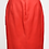 Thumbnail: Valentino Red Satin Pencil Skirt Size 10