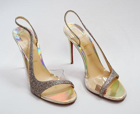 Christian Louboutin Glitter Heels Size 8.5