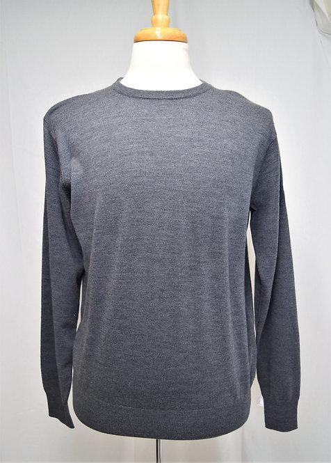 Peter Millar Gray Crewneck Sweater Size Medium