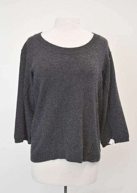 SOH Gray Cashmere Sweater Size Medium