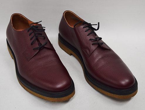 Dries Van Noten Burgundy Leather Shoes Size 12