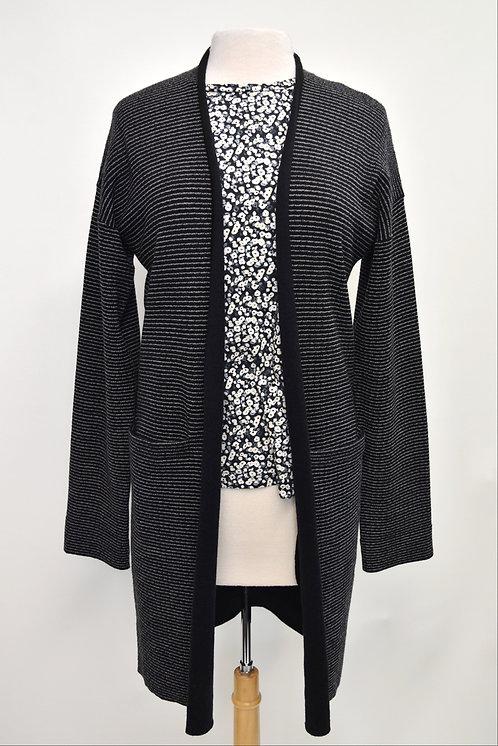 Helmut Lang Black Stripe Cardigan Size Large