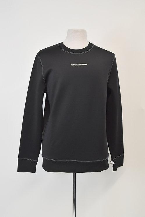 Karl Lagerfeld Black Sweatshirt Size Large