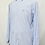 Thumbnail: Etro Blue Stripe Dress Shirt Size Medium