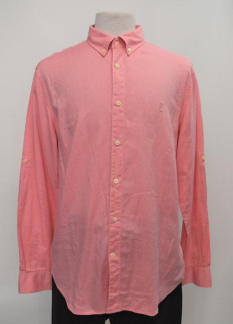 John Varvatos Pink Dress Shirt Size Large