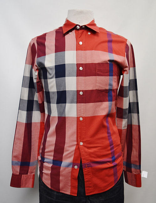 Burberry Brit Red Check Shirt Size Small