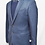 Thumbnail: Burberry Blue Wool Blazer Size 40R