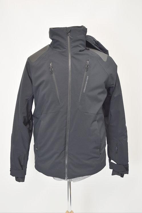 OberMeyer Black Hooded Jacket Size Small