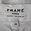 Thumbnail: Frame Denim White Distressed Skinny Jeans Size 24