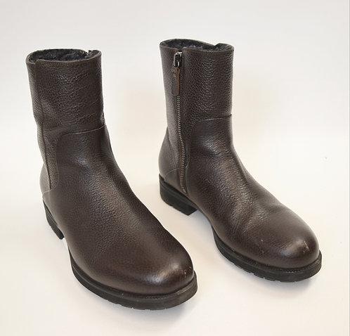 Aquatalia Brown Leather Boots Size 10