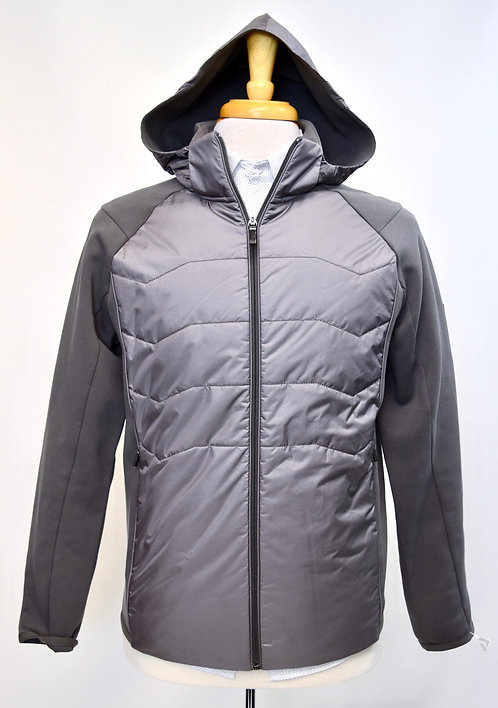 Hugo Boss Gray Zip-Up Jacket Size Medium