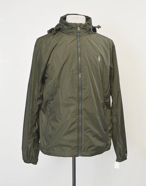 Ralph Lauren Green Windbreaker Jacket Size Large