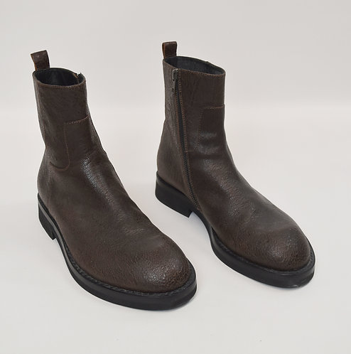 Ann Demeulemeester Brown Leather Boots Size 10