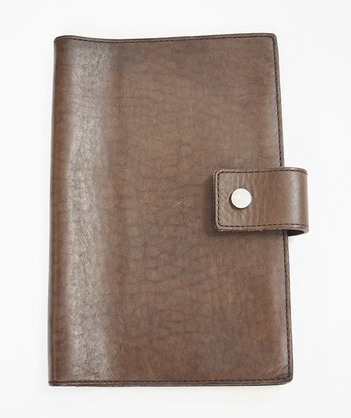 Shinola Brown Leather Journal/Ipad Cover