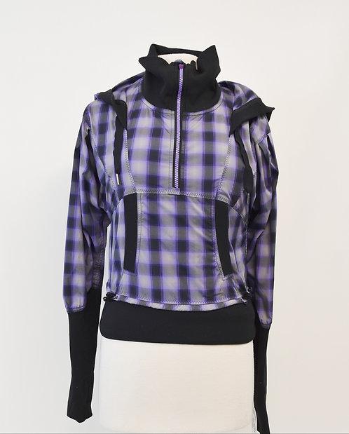 Lululemon Purple Plaid Jacket Size Small (4)