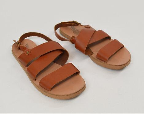 Ancient Greek Sandals Tan Leather Sandals Size 10