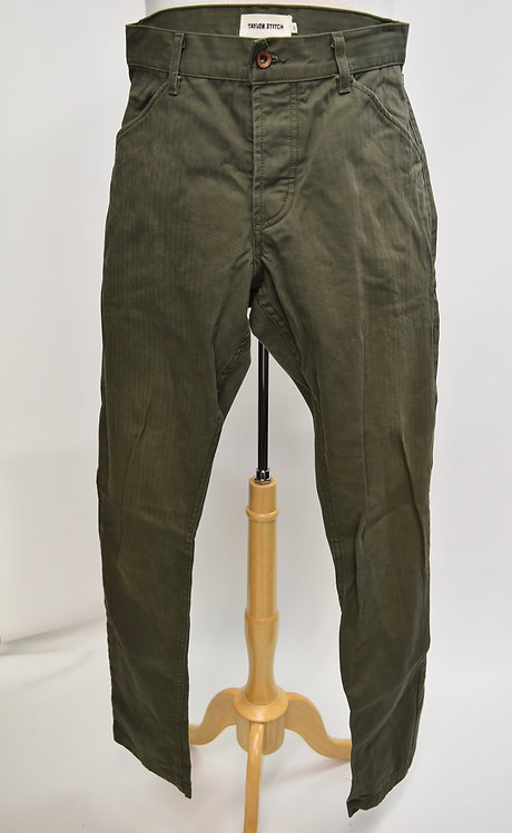 Taylor Stitch Green Slim Pants Size 31